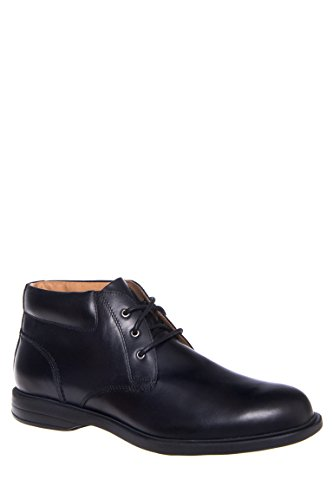 Florsheim Men's Vantage Chukka Black Smooth 9 D