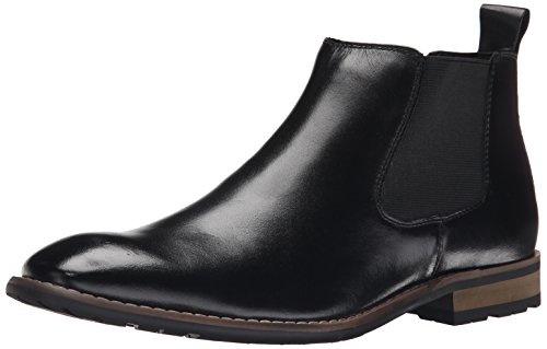 Steve Madden Men's Erwynn Chukka Boot, Black, 9 M US