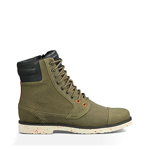 Teva Men's M Durban Tall Waxed Canvas Mid Casual Boot