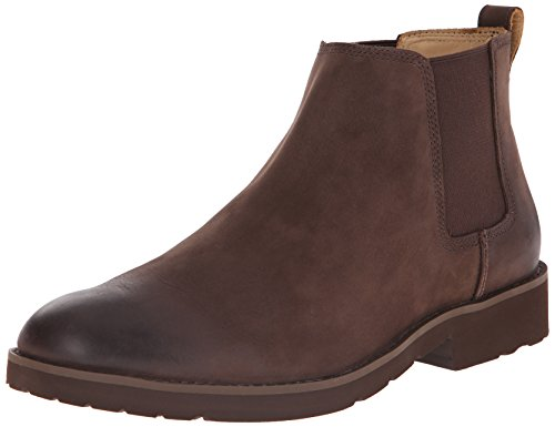 Sebago Men's Rutland Chelsea Boot, Medium Brown, 8.5 M US