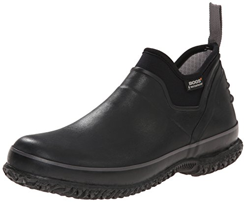 Bogs Men's Urban Farmer Waterproof Work Boot,Black,13 M US