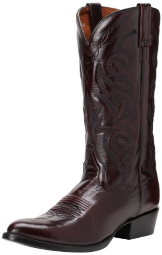 Dan Post Men's Milwaukee 13 inch R Toe Western Boot,Black Cherry,9.5 D US