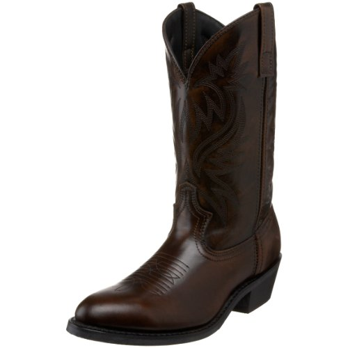 Laredo Men's Paris Western Boot,Antique Tan,9.5 XW US