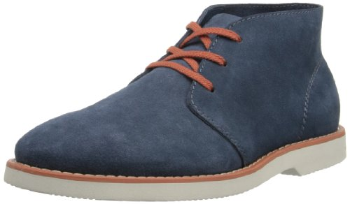 SeaVees Men's 3 Eye Chukka Boot,Shadow Blue,8.5 M US