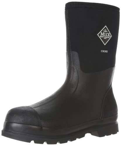 The Original MuckBoots Adult Chore Mid Boot,Black,Men's 10 M/Women's 11 M