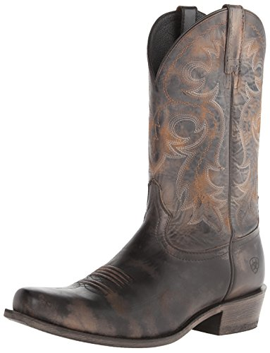 Ariat Men's Lawless Western Boot,  Rustic Black,  10.5 M US