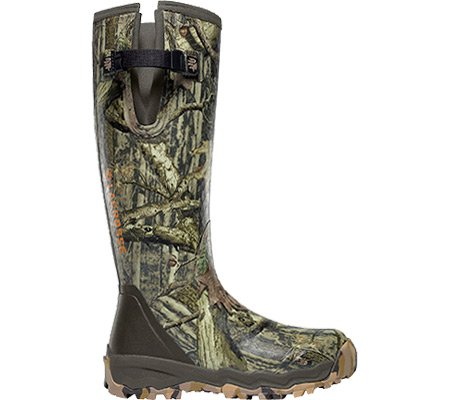 LaCrosse Men's Alphaburly Pro 18″ Side Zip Hunting Boot,Mossy Oak Break-Up Infinity,11 M US