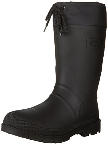 Kamik Men's Hunter Insulated Winter Boot, Black, 13 M US