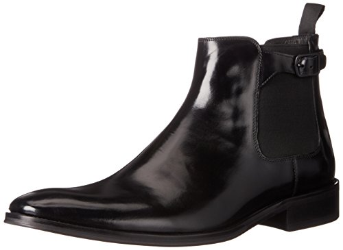 Kenneth Cole New York Men's Totaled Chelsea Boot, Black, 9 M US