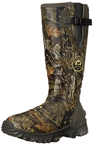 Irish Setter Men's 4883 Rutmaster 2.0 17″ 800-Gram Rubber Boot, Mod Country Camo, 9 E US