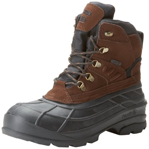 Kamik Men's Fargo Snow Boot,Dark Brown,9 M US