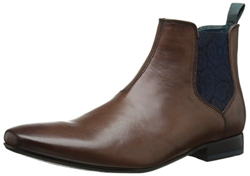 Ted Baker Men's Hourb Chelsea Boot, Brown Leather, 10.5 M US