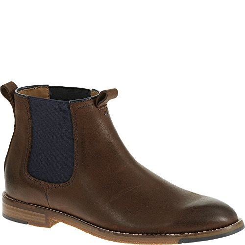 Hush Puppies Men's Thor Hamlin Chelsea Boot, Dark Brown, 9.5 M US
