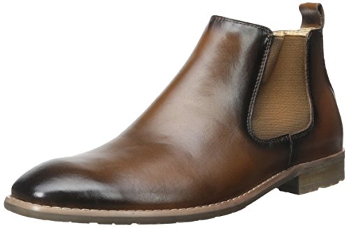 Steve Madden Men's Erwynn Chukka Boot, Tan, 9.5 M US