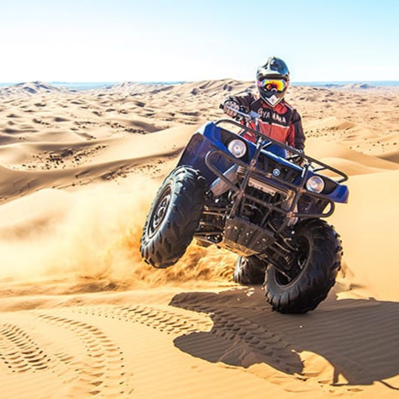 atv qaud in merzouga