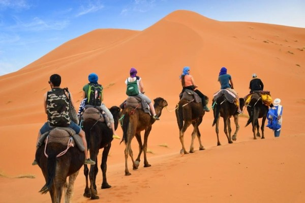 3 day sahara desert tour from Marrakech to Fes