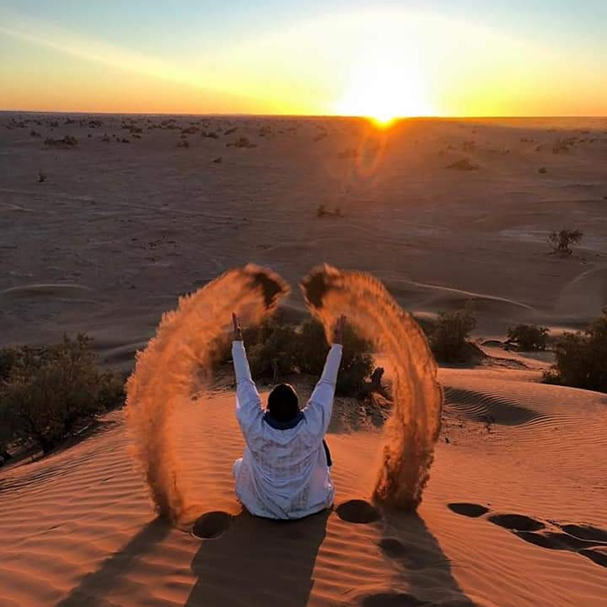 Overnight camel trek in Merzouga