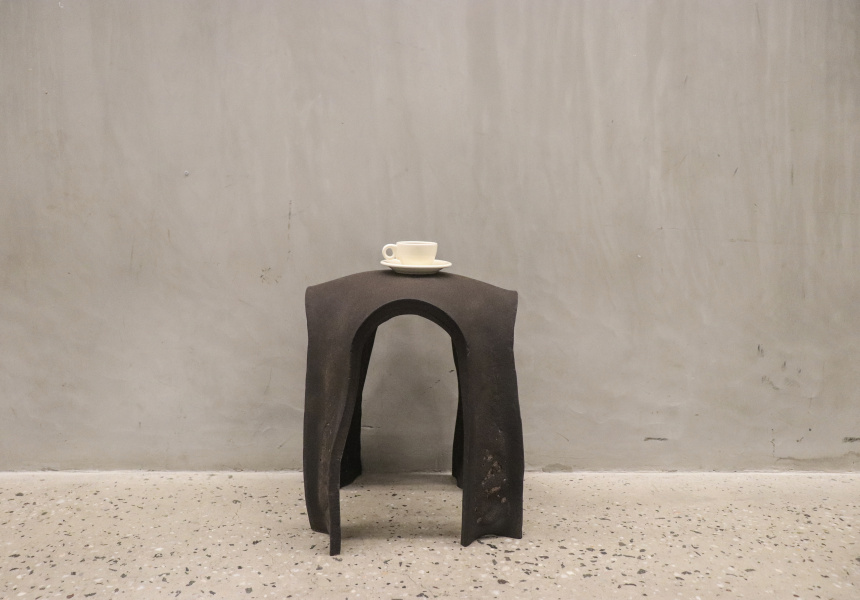 RE.Bean coffee stool_Kristen_Wang image Kiriten Wang