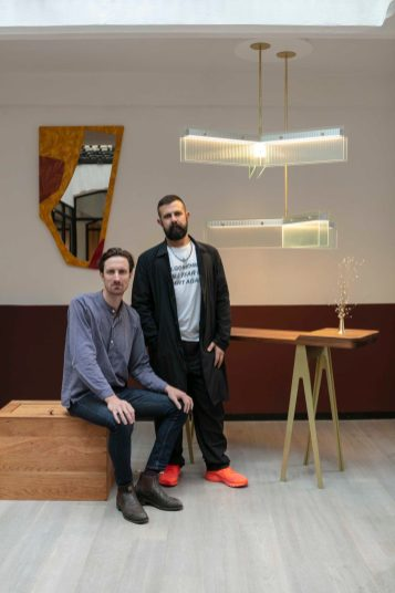 Trent Jansen and Christopher Boots at LOCAL MILAN No.4