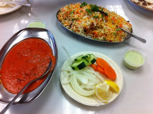 Food at Al markaz