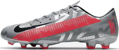 Nike Mercurial Vapor 13 Academy FG/MG - metallic bomber grey/black/particle grey/laser crimson