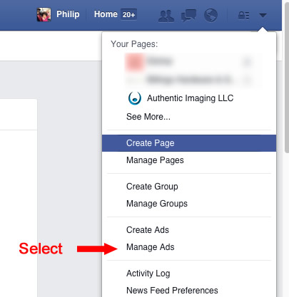 facebook-select-manage-ads-screen-shot