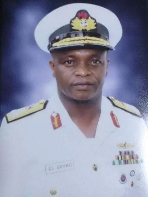 Rear Admiral A.z Gambo (Chief Of Naval Staff)