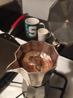 Moka pot espresso.