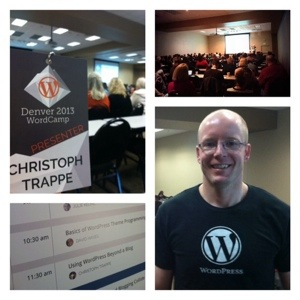 Christoph Trappe at WordCamp Denver 2013
