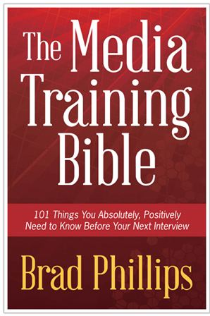 media relations training book