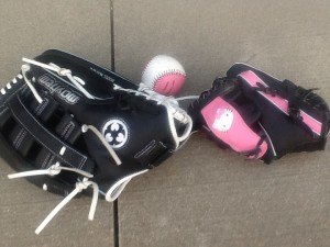 stories we remember - playing catch - baseball gloves