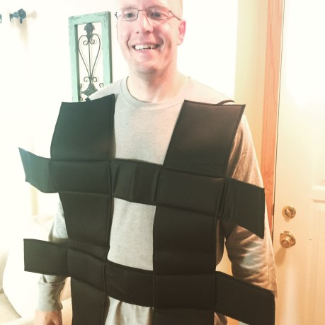 hashtag halloween costume for content marketers