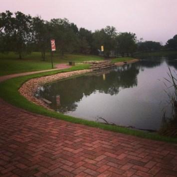 running in omaha - heartland of america park in omaha