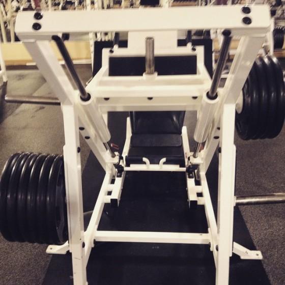 leg press weights