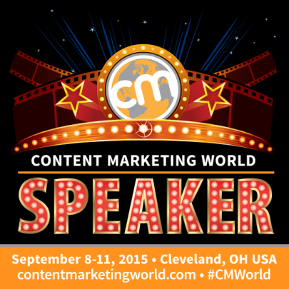talking executive buy-in at Content Marketing World