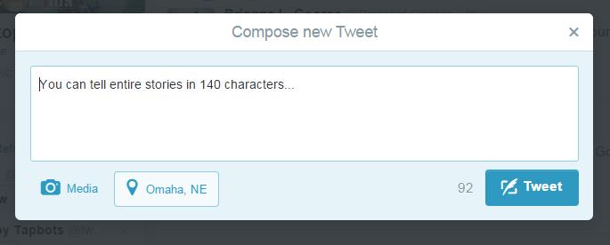 Dear Twitter, no need to make tweets longer