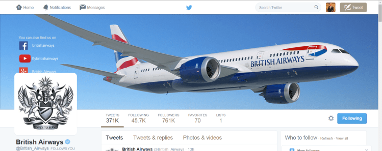 British Airways easily moves customer service from social media to the phone