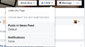 facebook notifications for pages