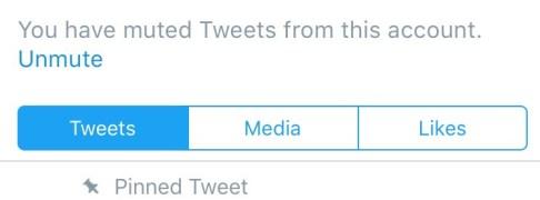 unmuting somebody on twitter