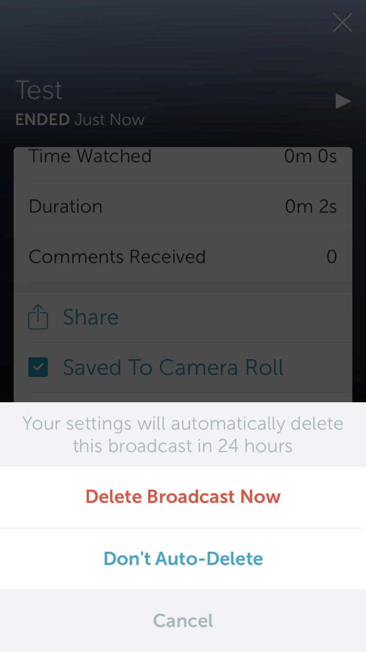 how to download my video from periscope