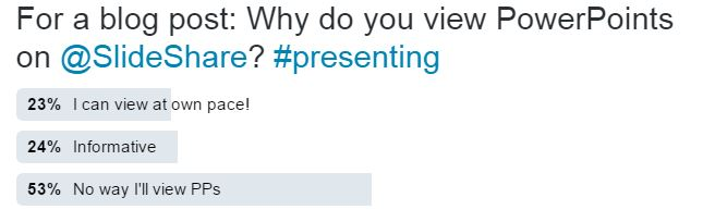 Do people really voluntarily view PowerPoints on Slideshare?