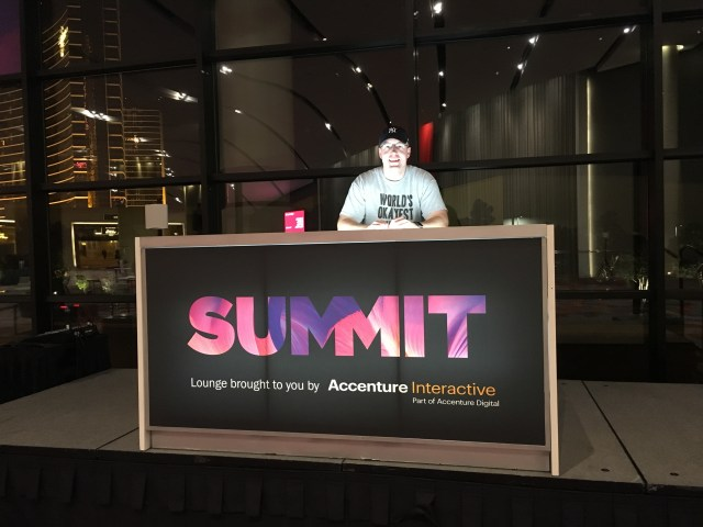 Christoph at the Adobe Summit as part of Adobe's influencer program