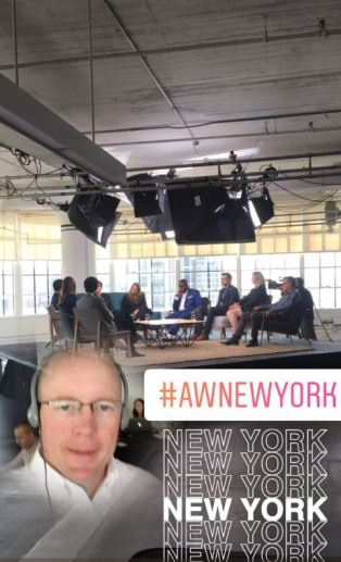 At the Adobe Think Tank in New York City 2017