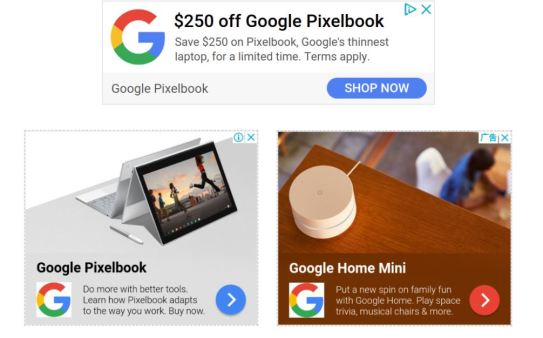 Google Ads CTA examples