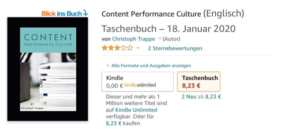 Amazon star rating in Germany