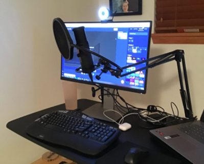 podcast microphone for desk