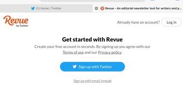 Sign in for Twitter Newsletter