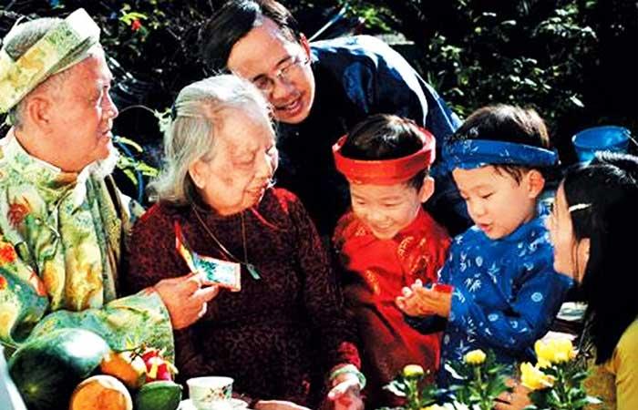 nouvel an vietnamien reunion familiale