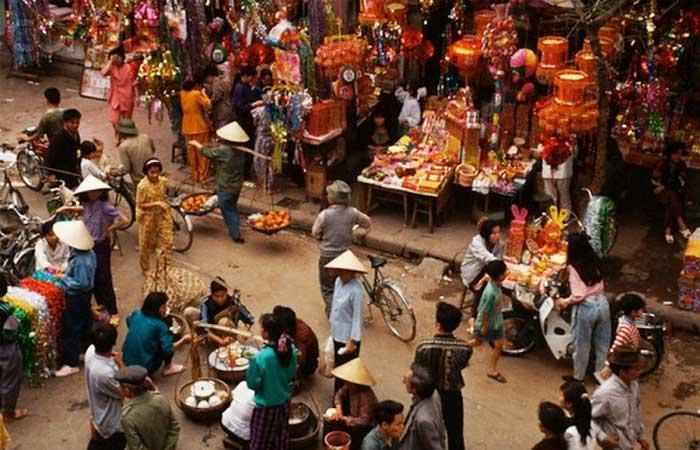 nouvel an vietnamien marche du tet