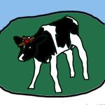 lazer cow